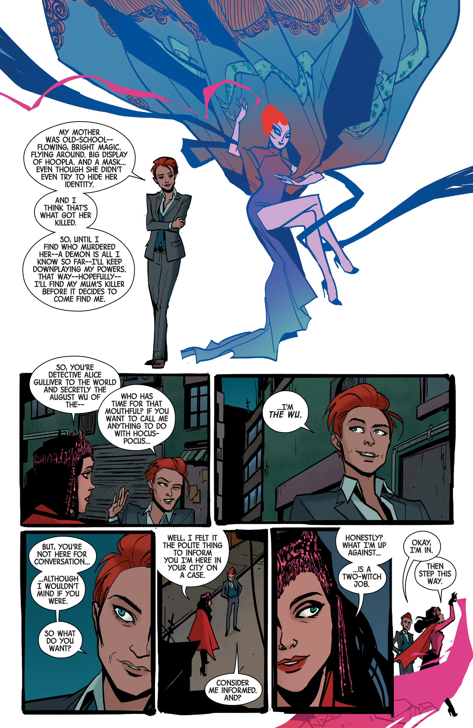 Read online Scarlet Witch (2016) comic -  Issue #7 - 13