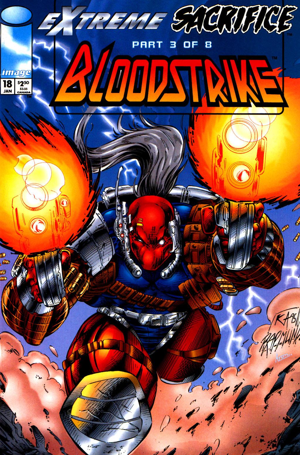 Bloodstrike (1993) 18 Page 1