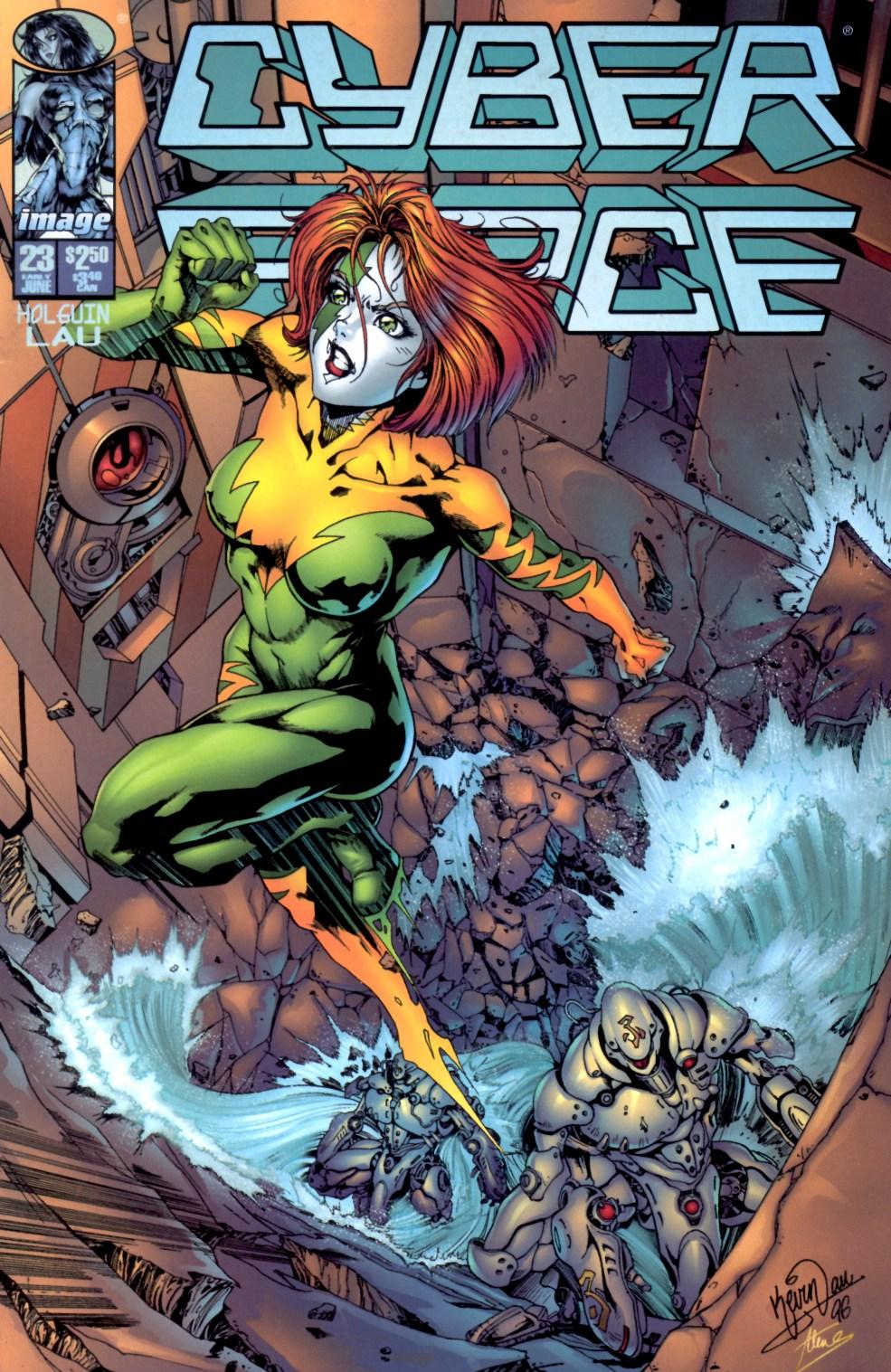 Cyberforce (1993) 23 Page 1