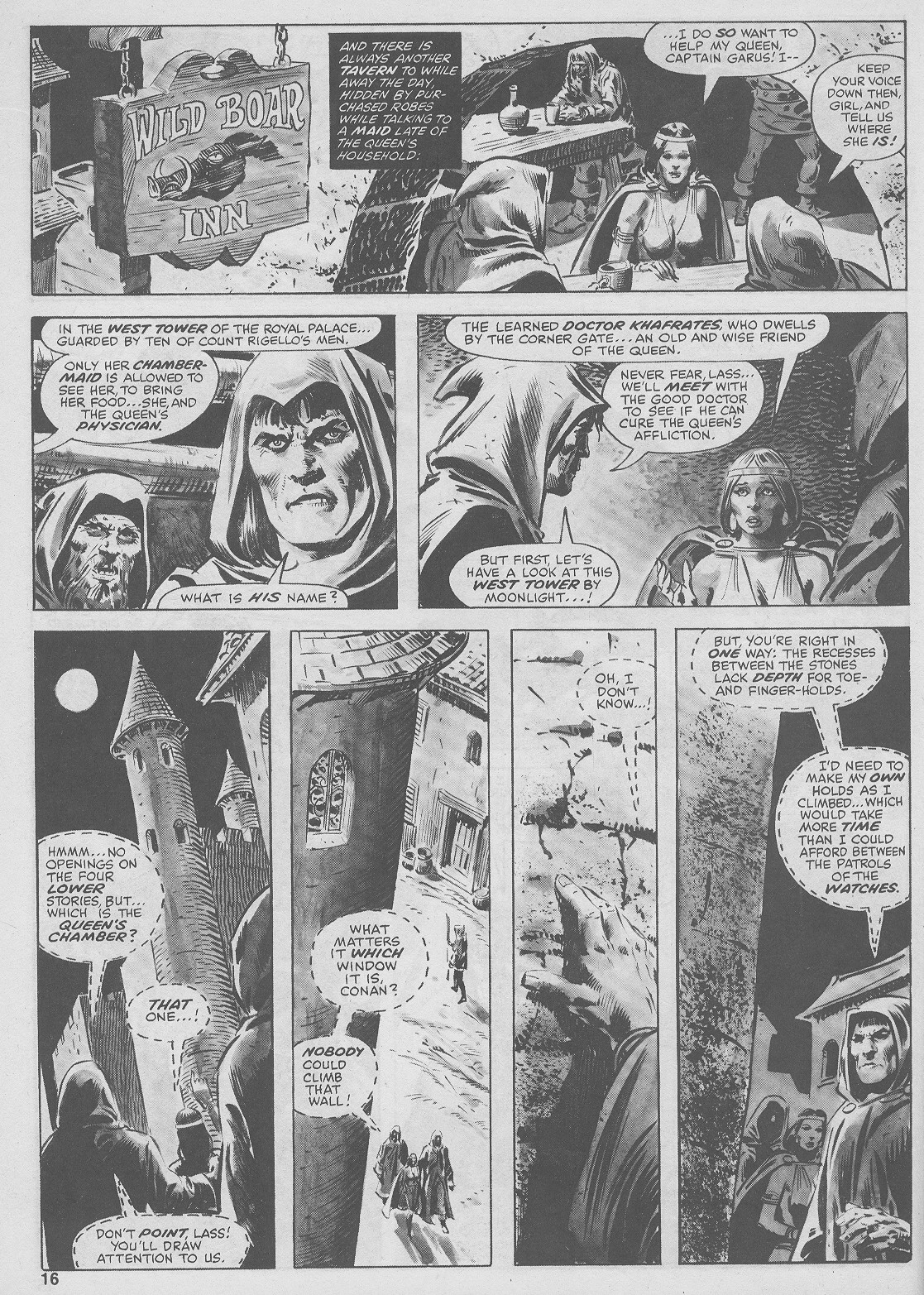 The Savage Sword Of Conan Issue #44 #45 - English 16