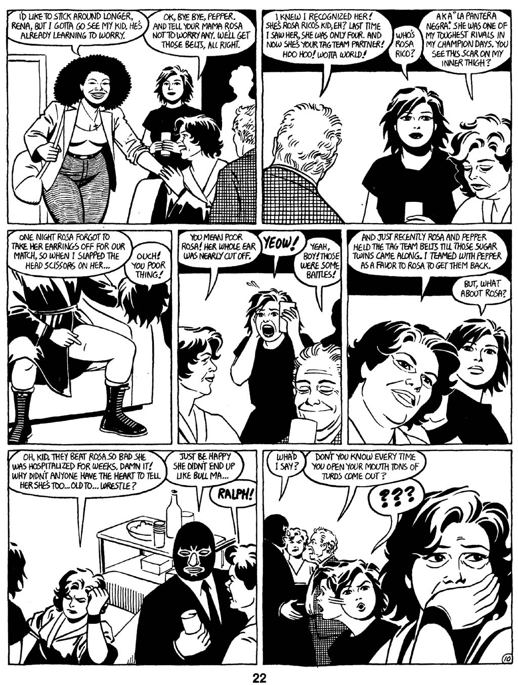 Love and Rockets (1982) Issue #16 #15 - English 24