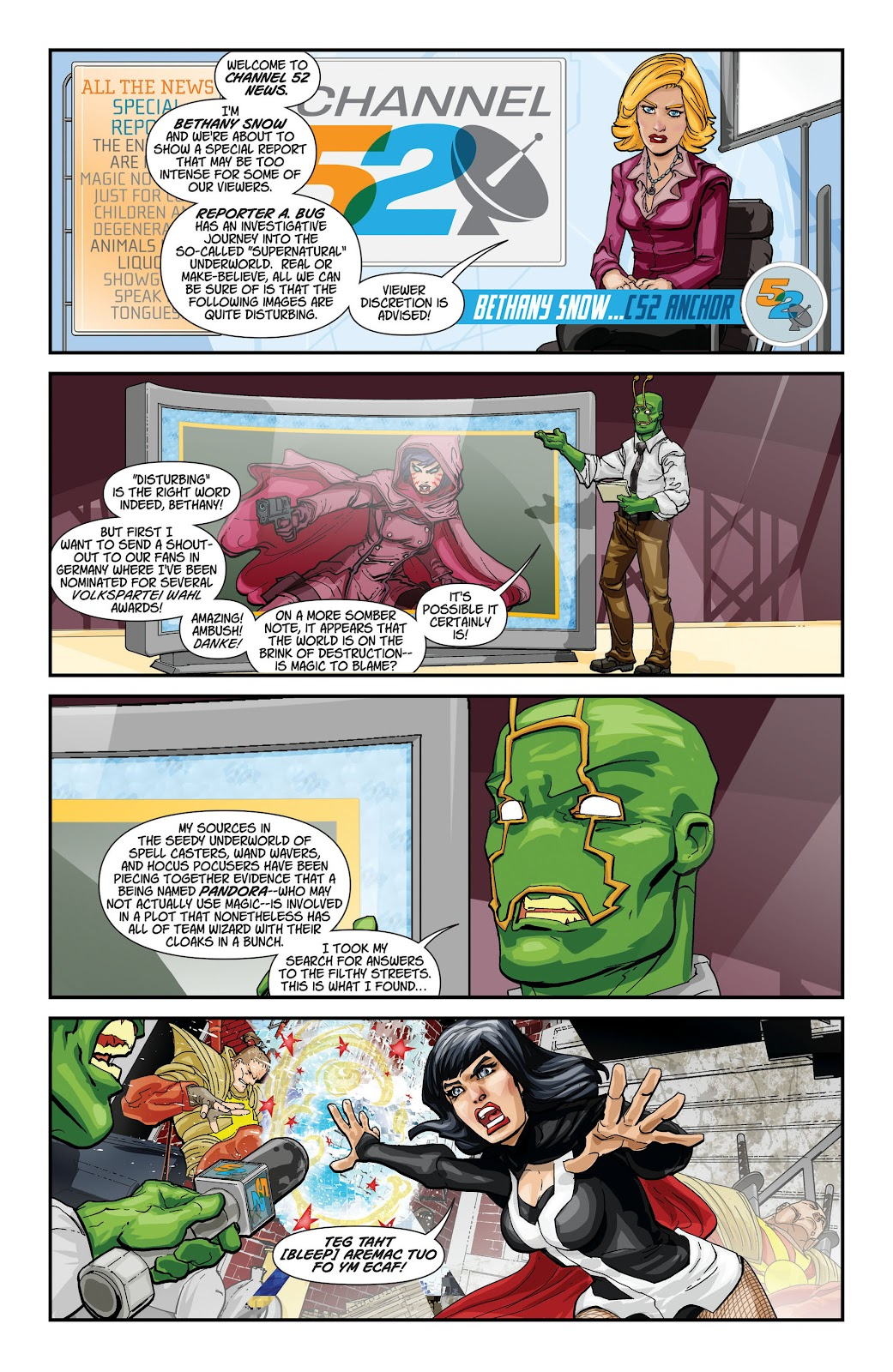 Threshold (2013) Issue #6 #6 - English 31