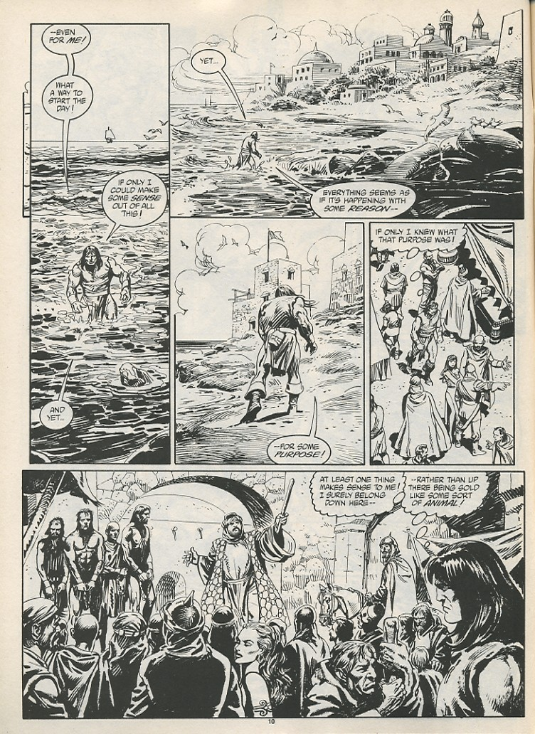 The Savage Sword Of Conan Issue #189 #190 - English 12