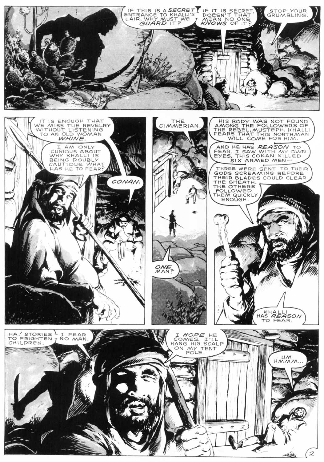 The Savage Sword Of Conan Issue #154 #155 - English 6