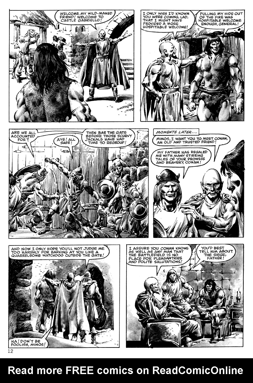 The Savage Sword Of Conan Issue #101 #102 - English 12