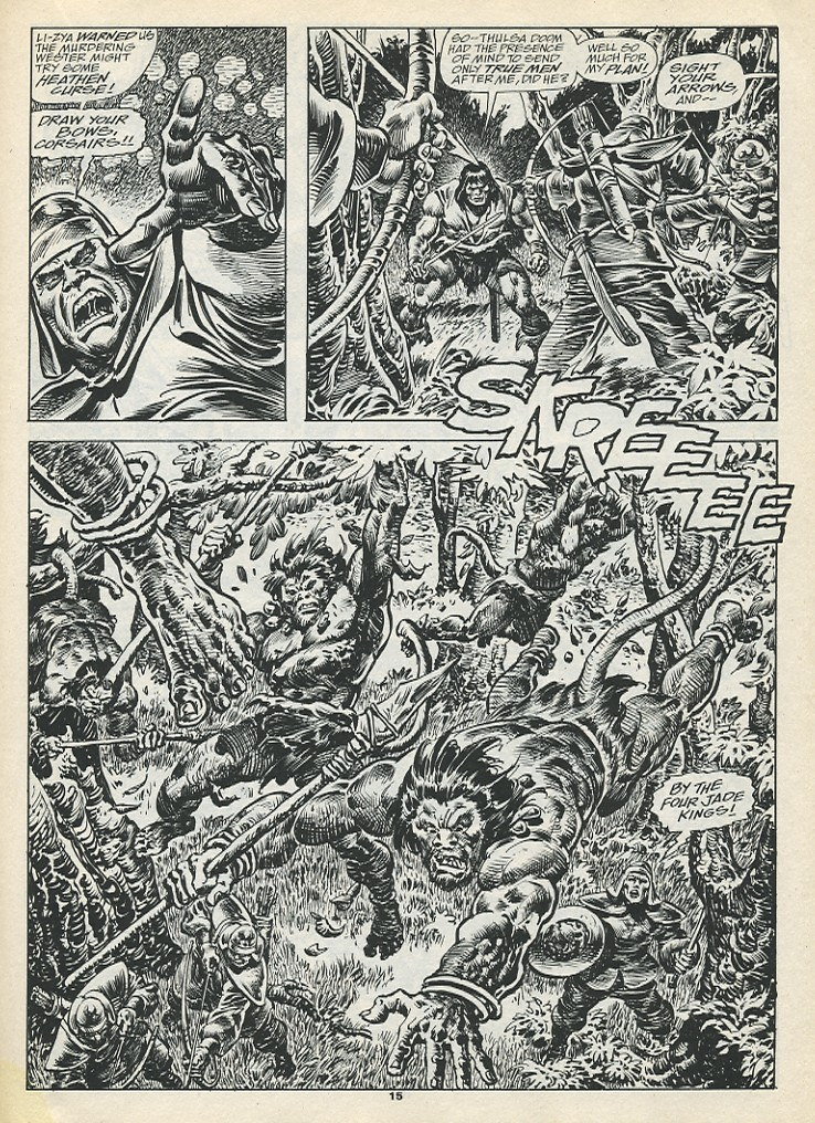 The Savage Sword Of Conan Issue #193 #194 - English 17
