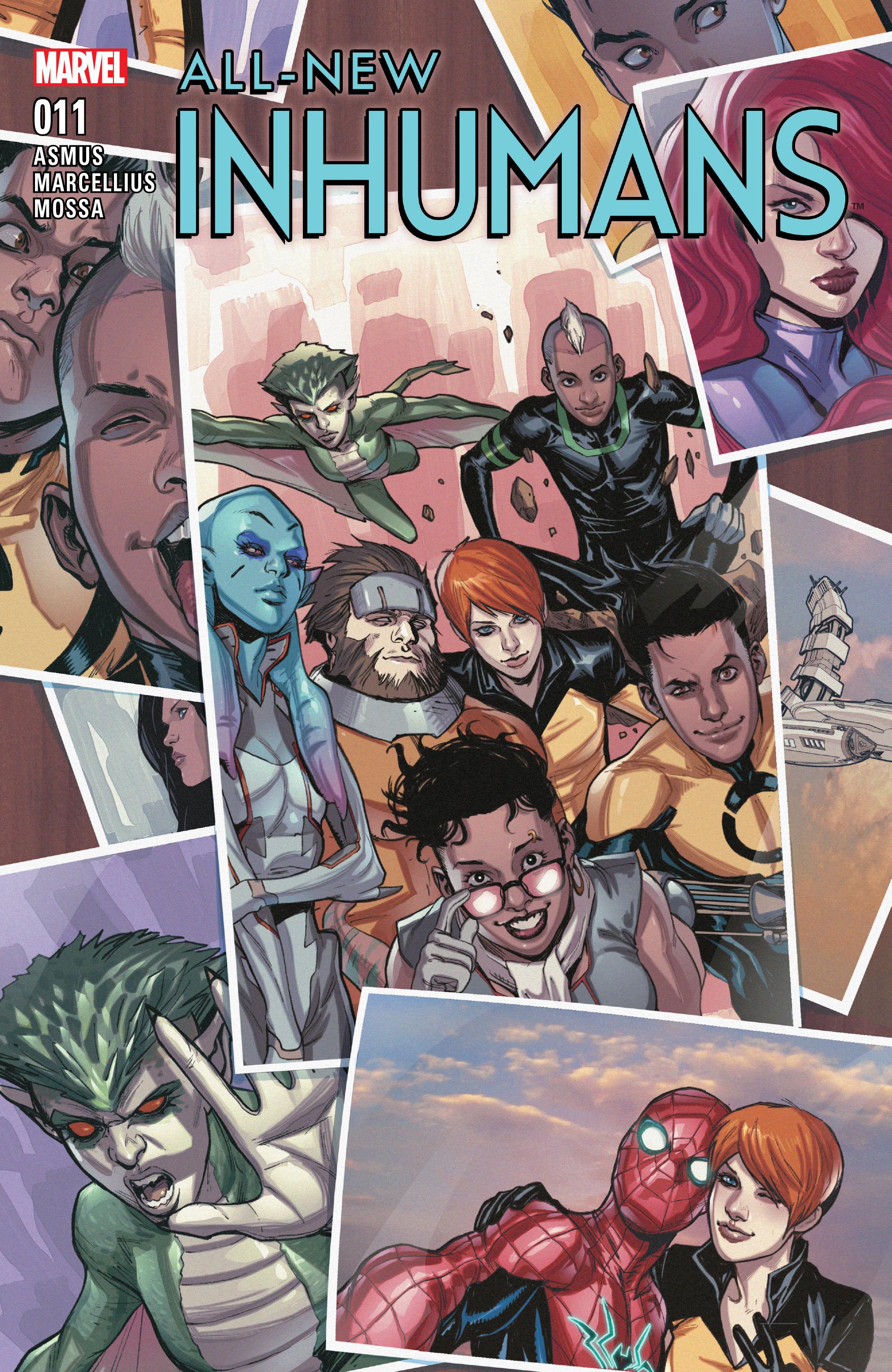 All-New Inhumans #11 #11 - English 1