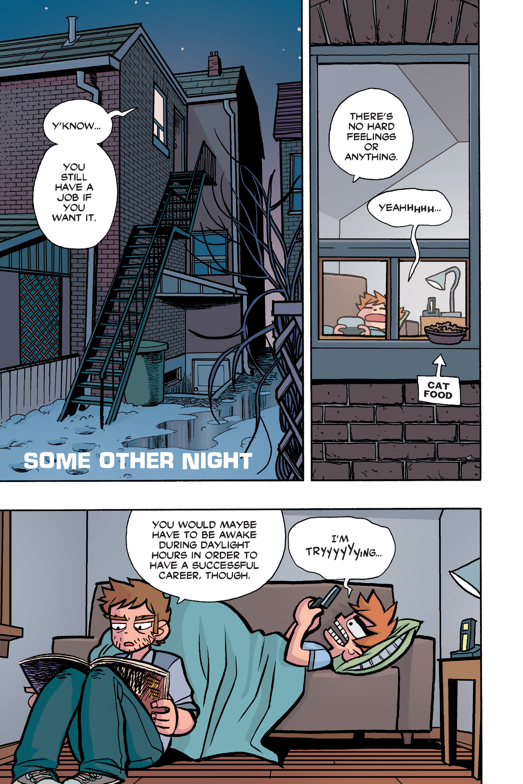 Read online Scott Pilgrim comic -  Issue #6 - 18