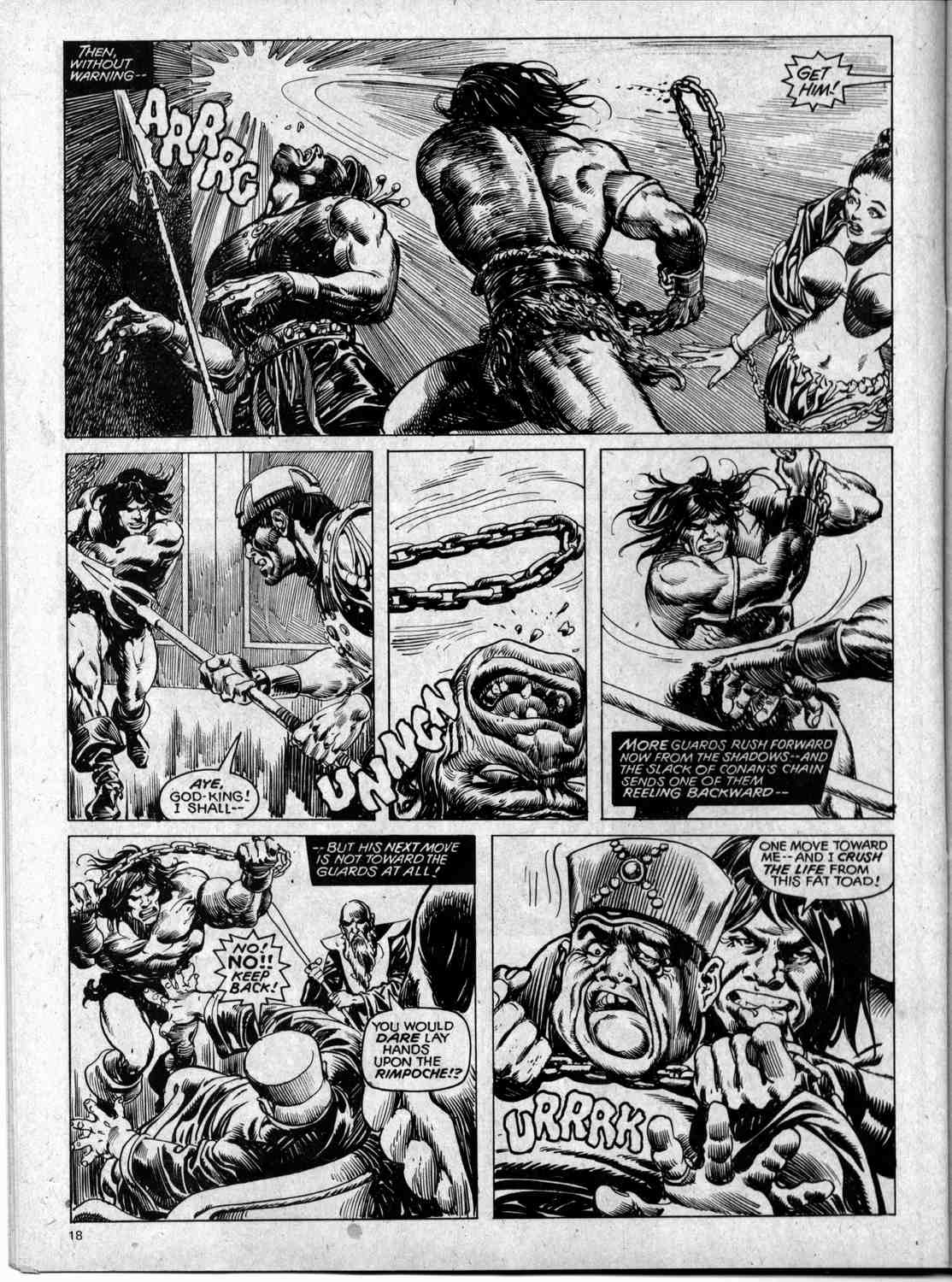 The Savage Sword Of Conan Issue #59 #60 - English 18