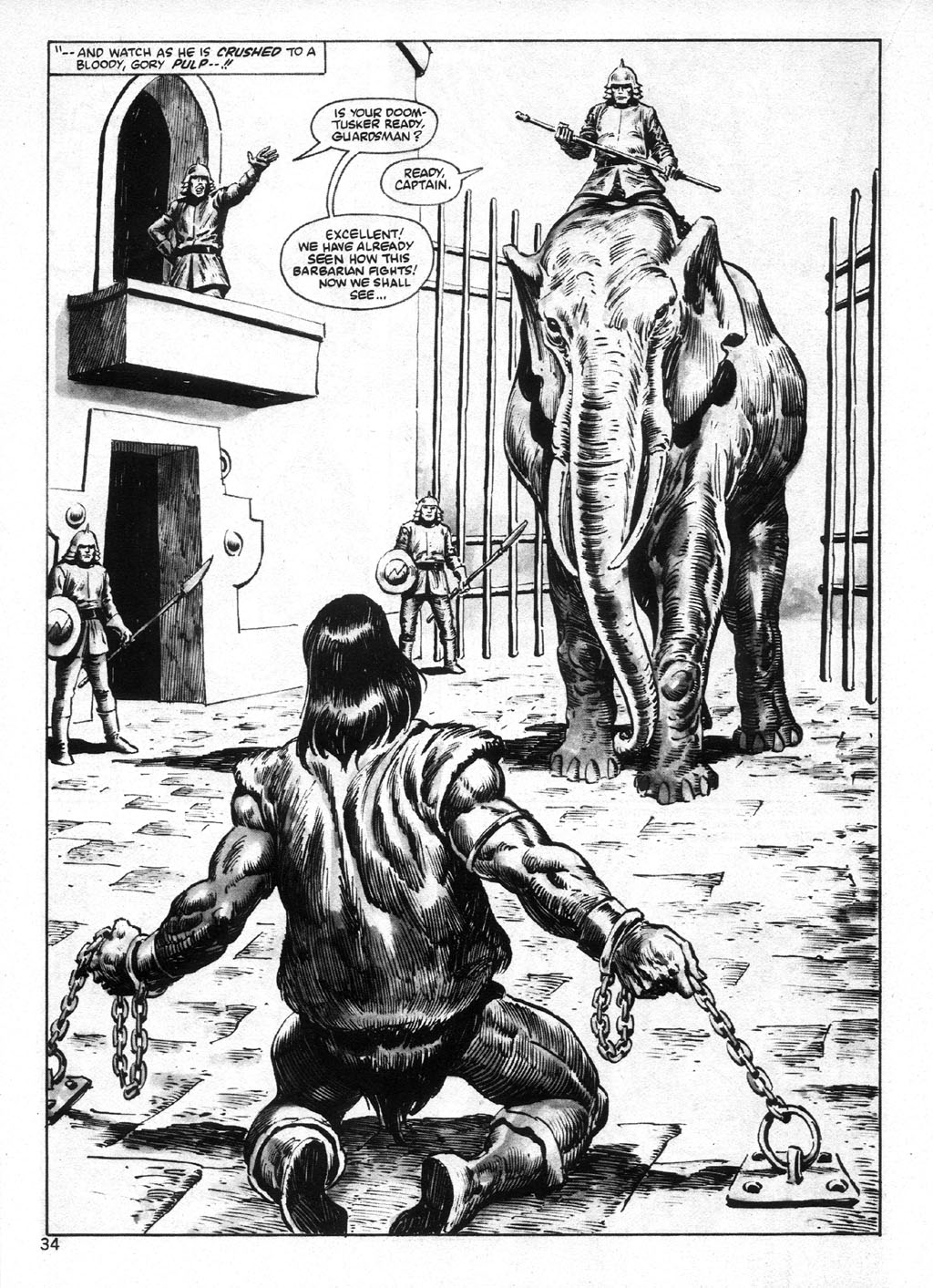 The Savage Sword Of Conan Issue #95 #96 - English 34
