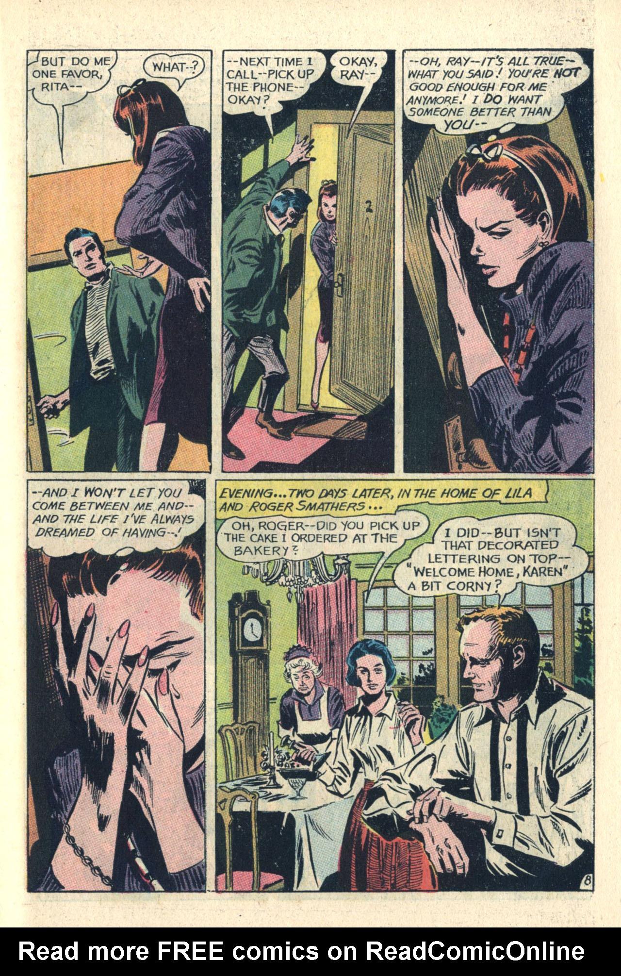 Read online Secret Hearts comic -  Issue #112 - 27
