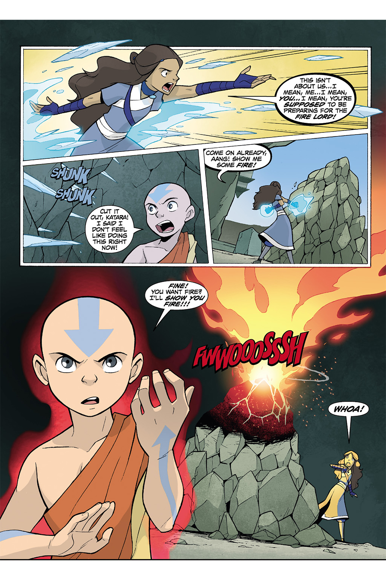 Nickelodeon Avatar: The Last Airbender - The Lost Adventures chap full pic 194