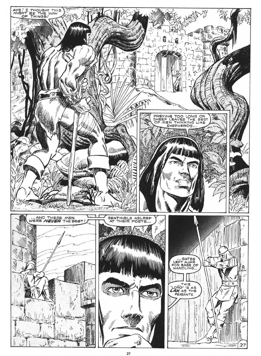The Savage Sword Of Conan Issue #171 #172 - English 29