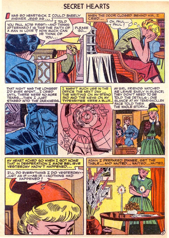 Read online Secret Hearts comic -  Issue #11 - 33