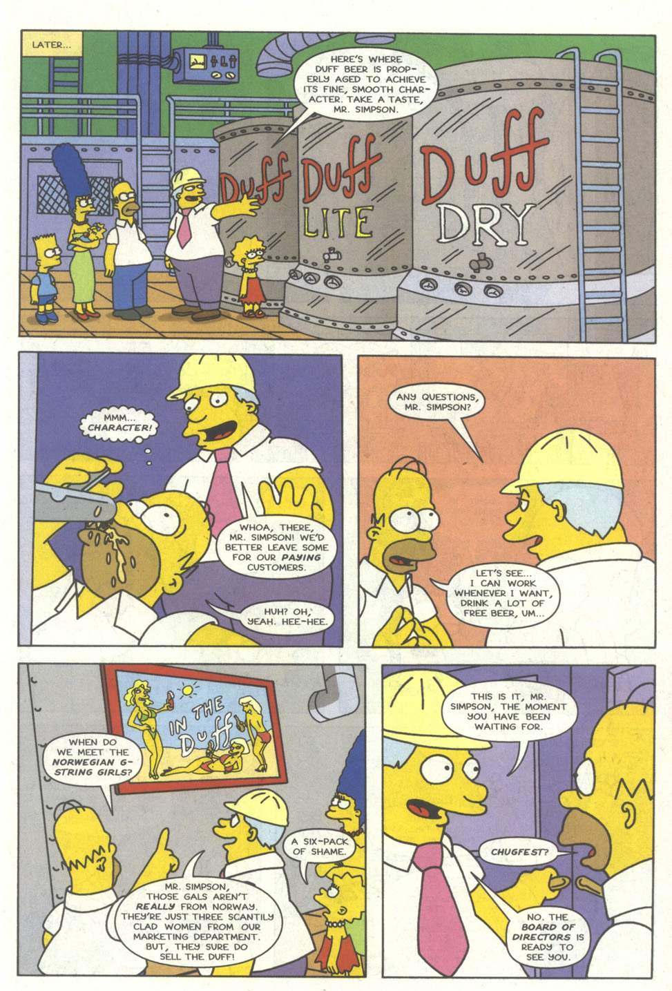 Read online Simpsons Comics comic -  Issue #14 - 12