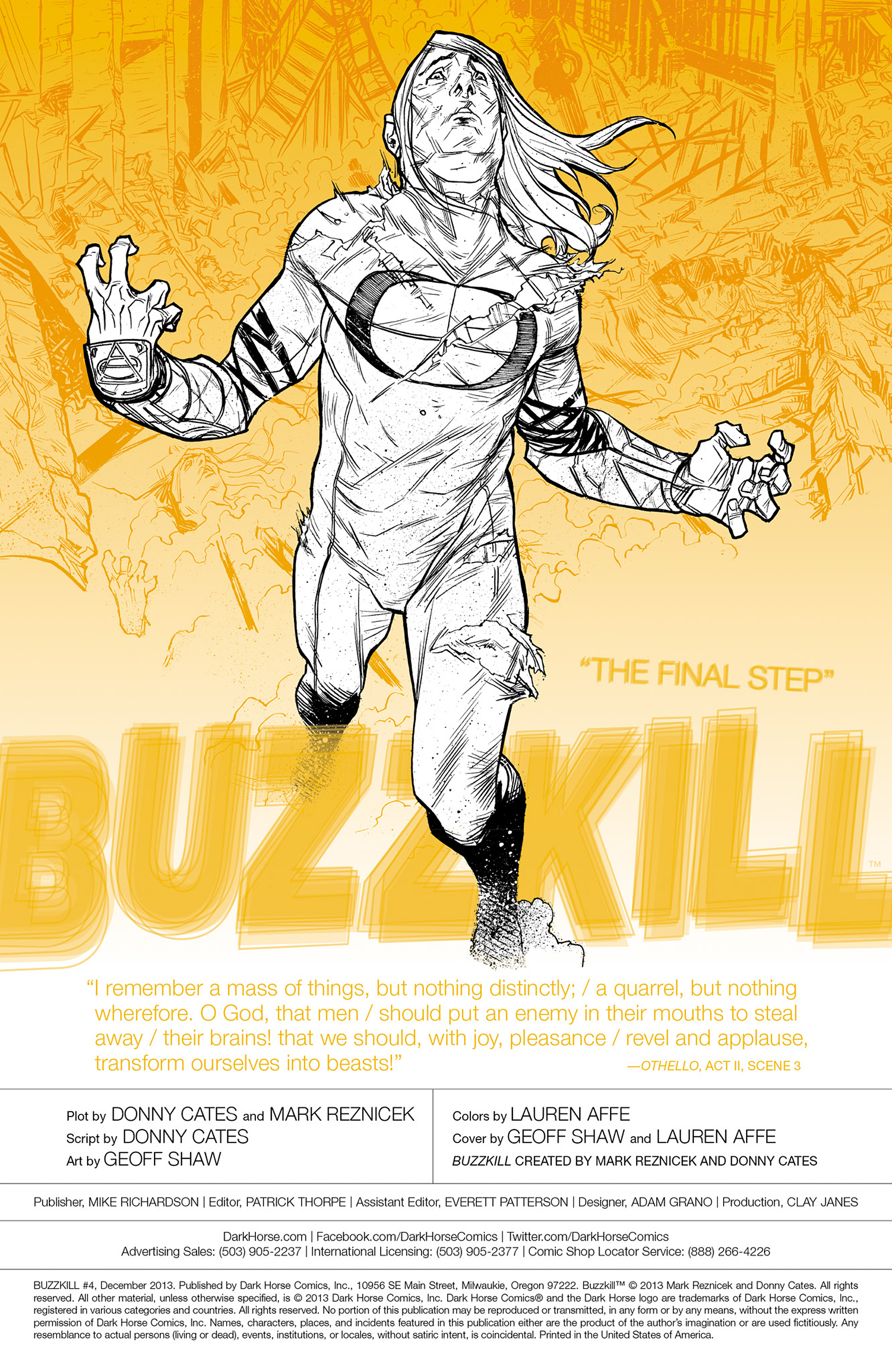 Read online Buzzkill comic -  Issue #4 - 2
