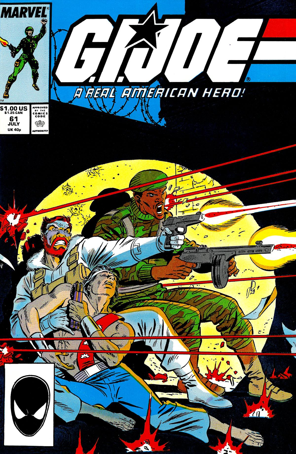 G.I. Joe: A Real American Hero 61 Page 1