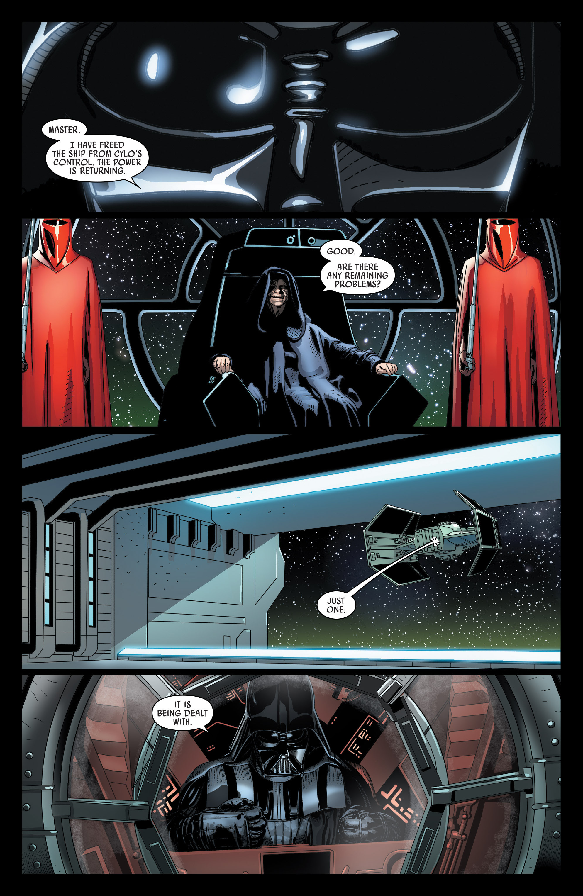 Read online Darth Vader comic -  Issue #24 - 21