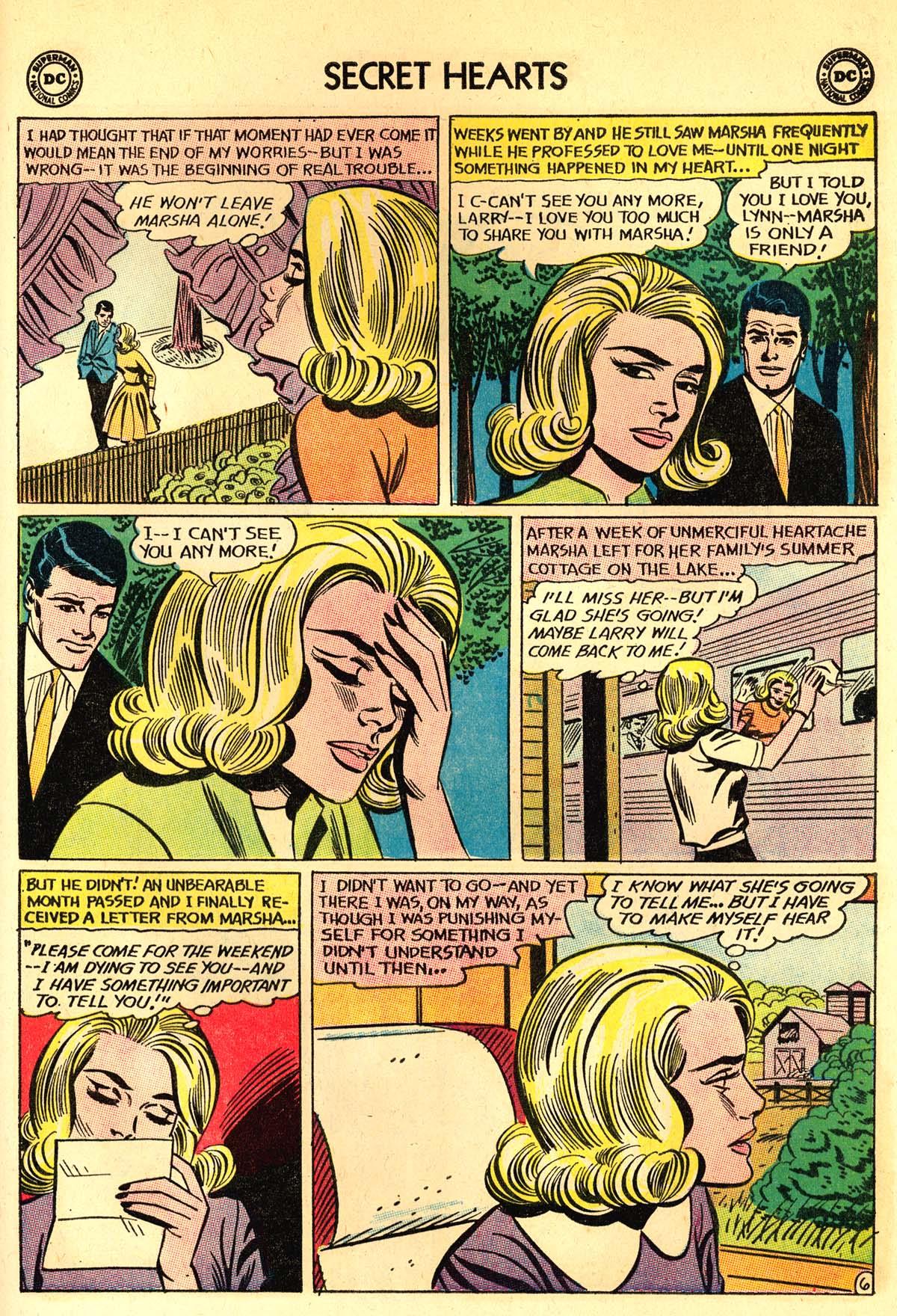 Read online Secret Hearts comic -  Issue #89 - 25