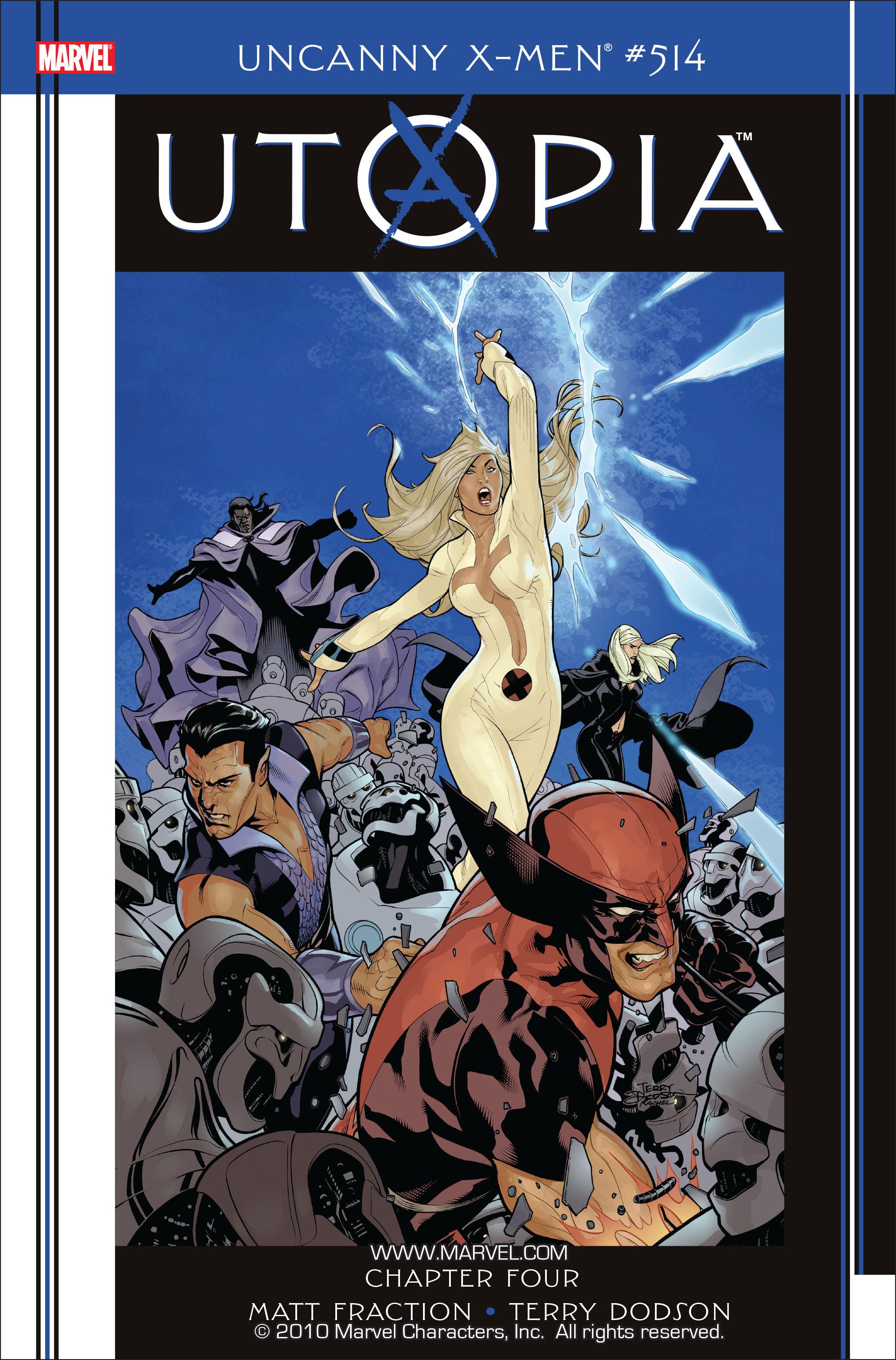 Uncanny X-Men (1963) 514 Page 1