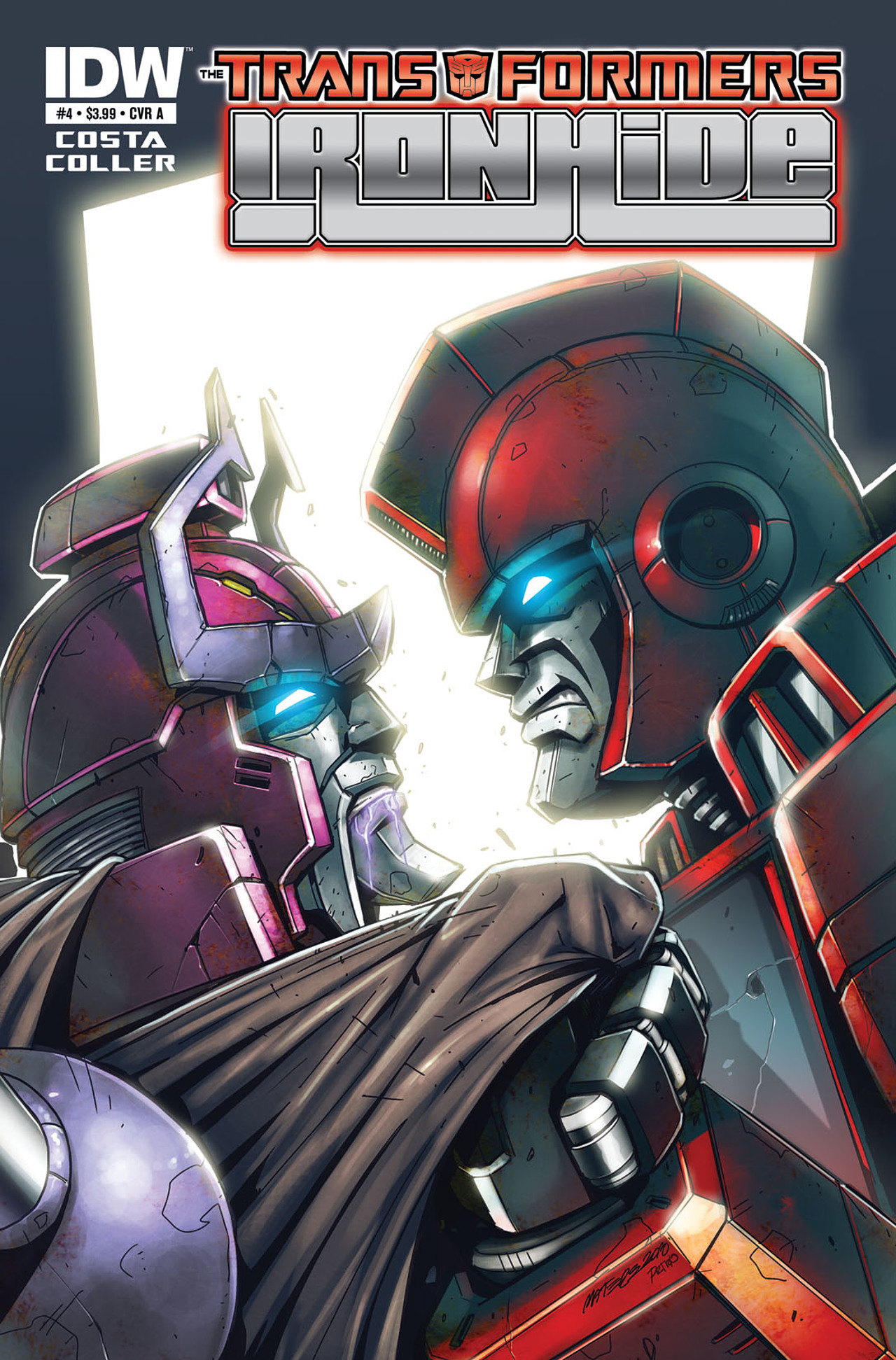 Read online The Transformers: Ironhide comic -  Issue #4 - 1
