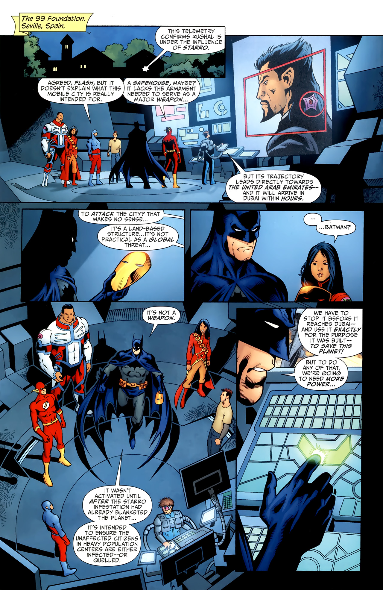 Read online Justice League of America/The 99 comic -  Issue #5 - 6
