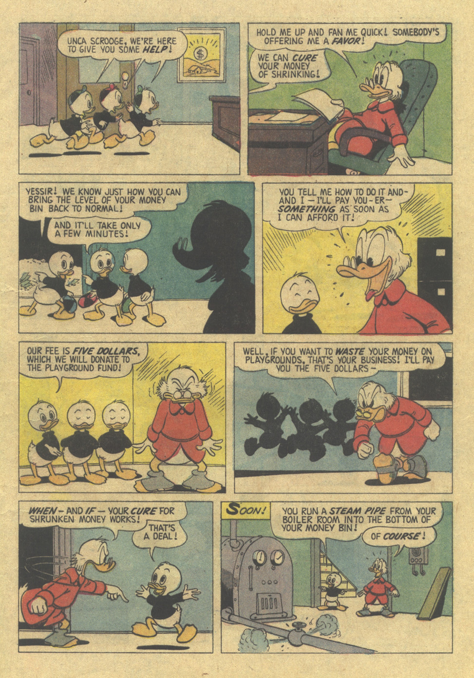 Uncle Scrooge (1953) Issue #110 #110 - English 9