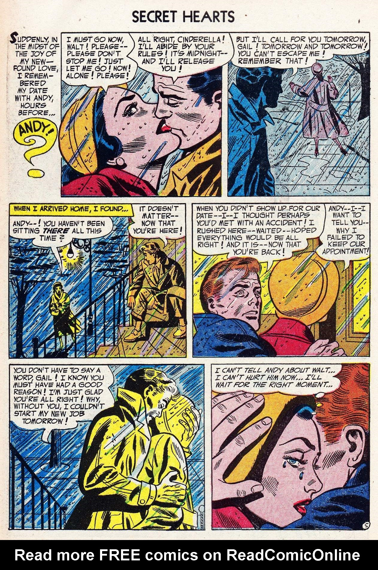 Read online Secret Hearts comic -  Issue #16 - 30
