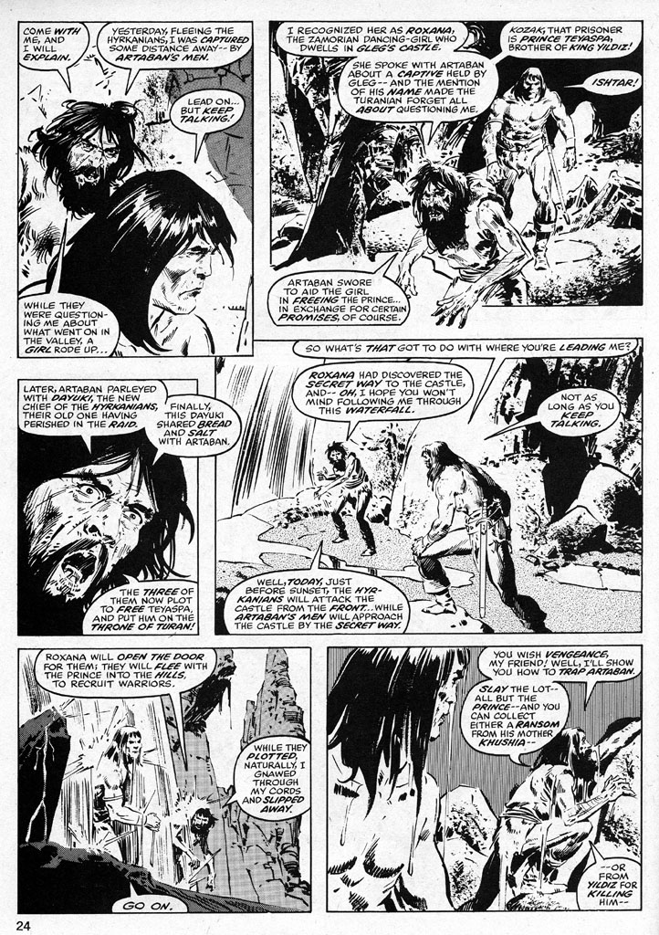 The Savage Sword Of Conan Issue #38 #39 - English 24