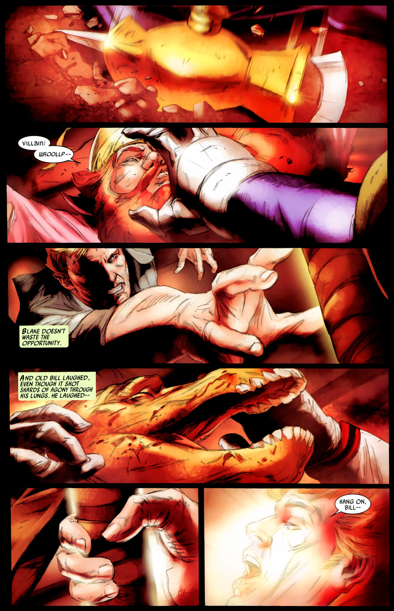 Read online Secret Invasion: Thor comic -  Issue #3 - 5