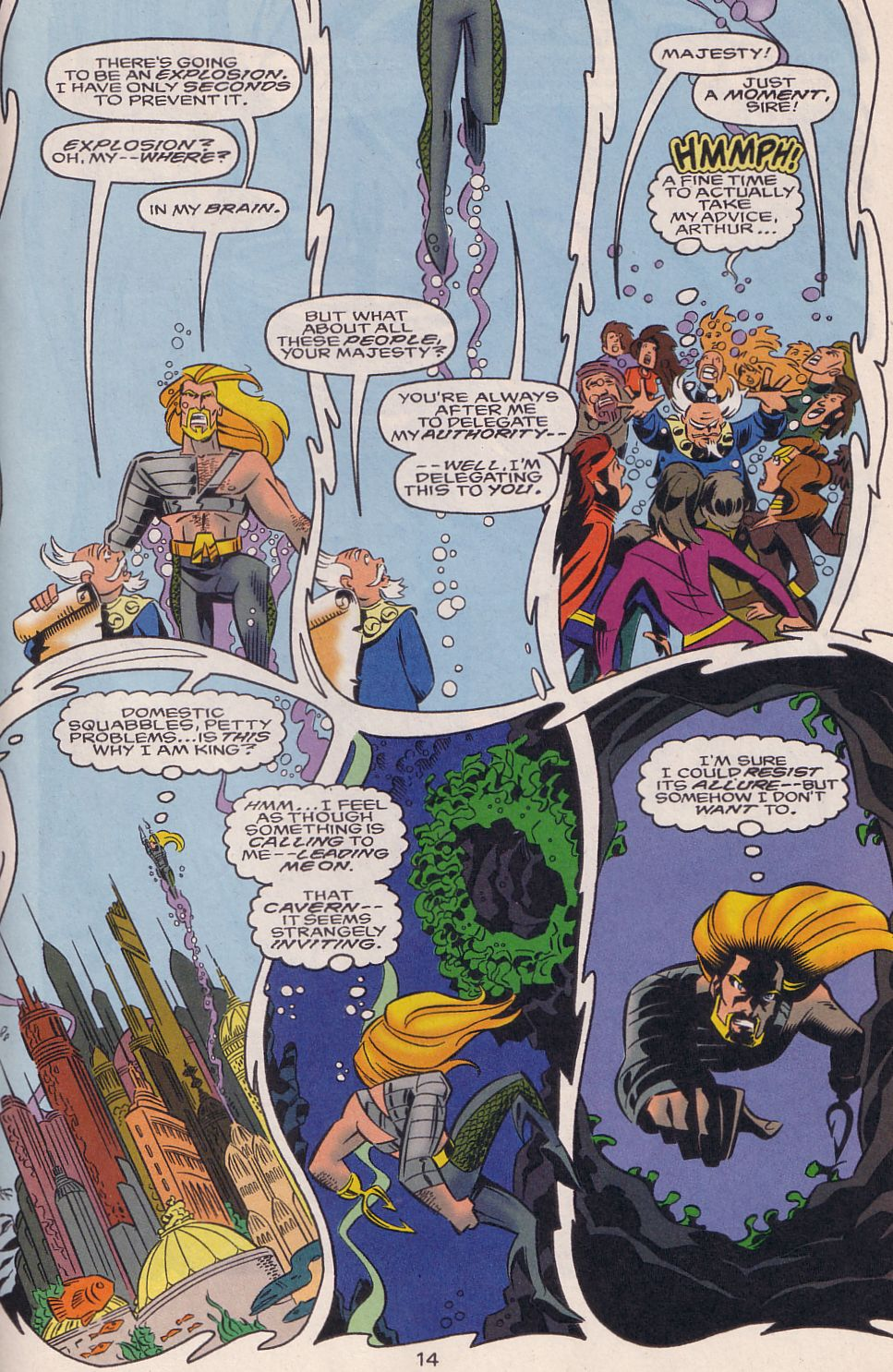 Read online Adventures in the DC Universe comic -  Issue #15 - 15