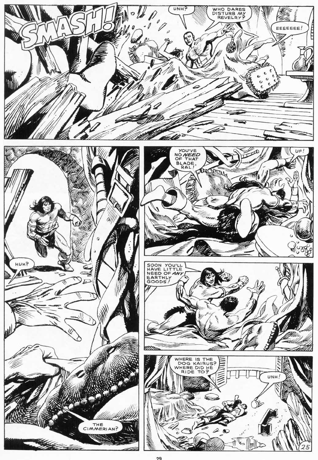 The Savage Sword Of Conan Issue #156 #157 - English 29