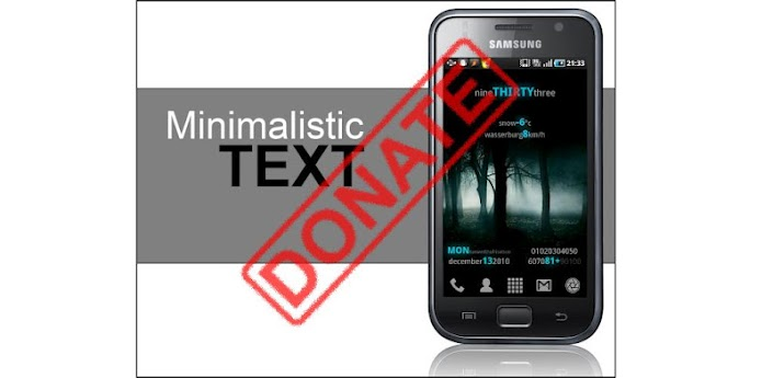 Minimalistic Text (donate/pro) apk