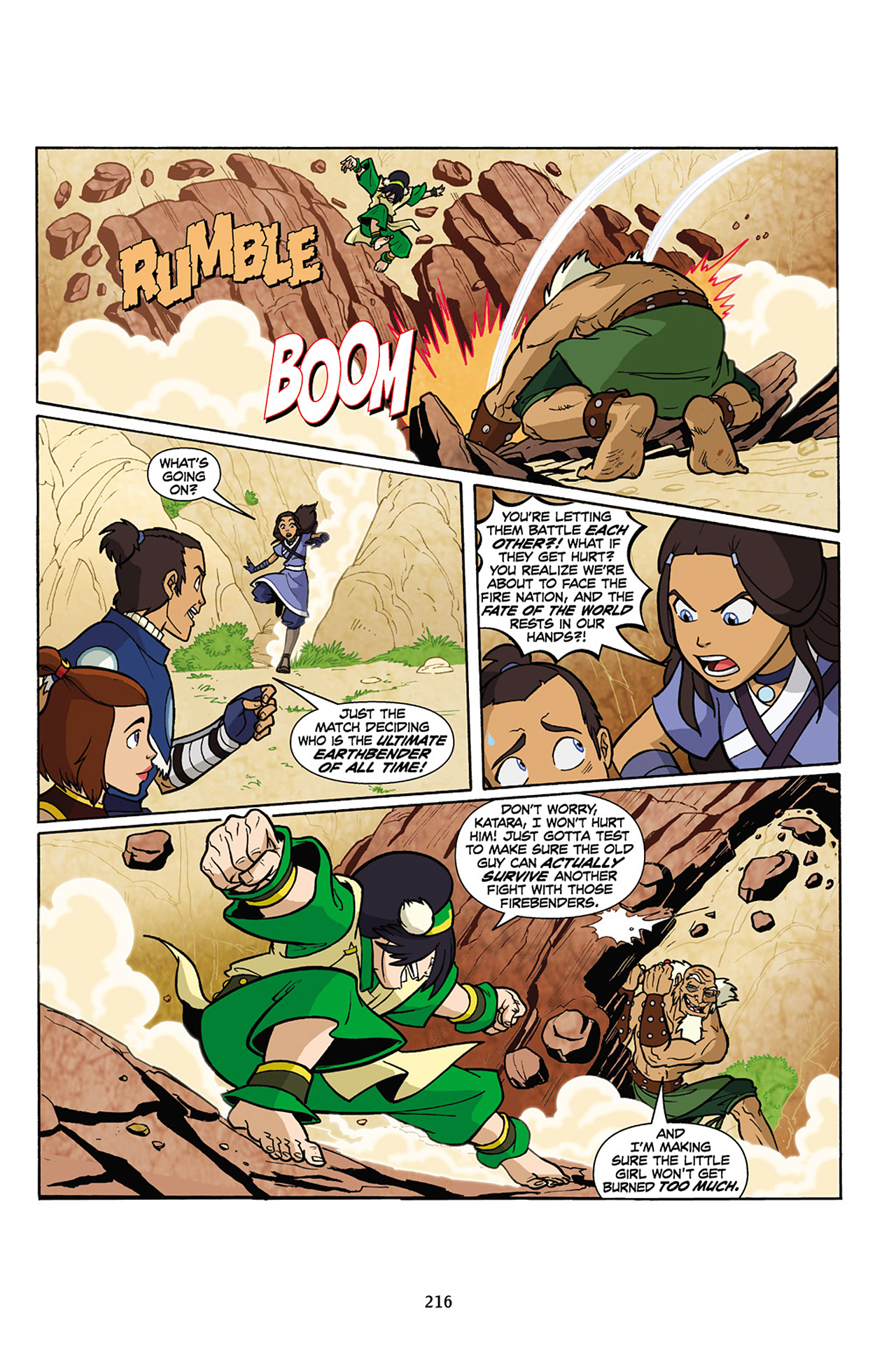 Nickelodeon Avatar: The Last Airbender - The Lost Adventures chap full pic 217