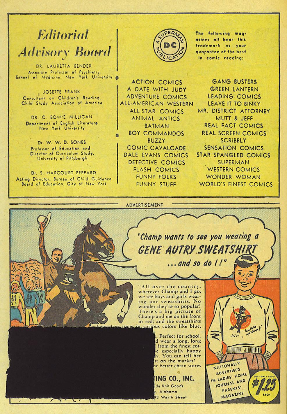 Read online Adventure Comics (1938) comic -  Issue #135 - 34