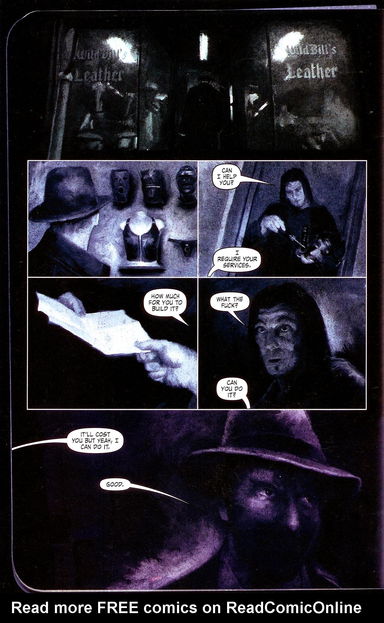 Read online Se7en comic -  Issue #4 - 29
