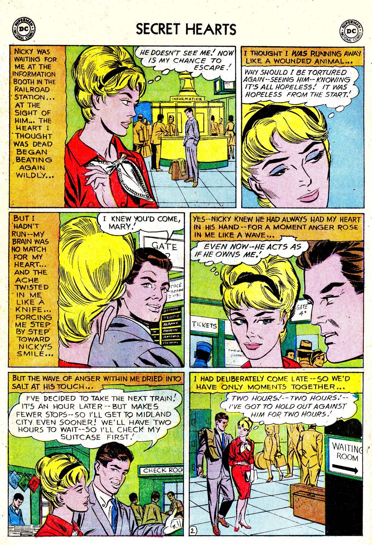 Read online Secret Hearts comic -  Issue #85 - 4