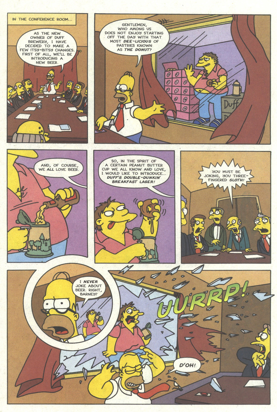 Read online Simpsons Comics comic -  Issue #14 - 17
