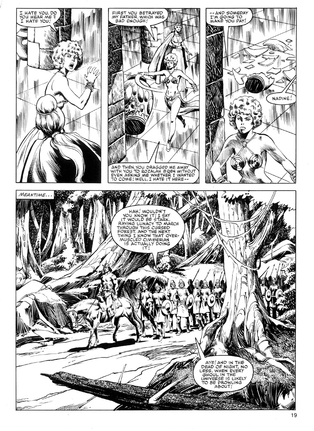 The Savage Sword Of Conan Issue #91 #92 - English 18