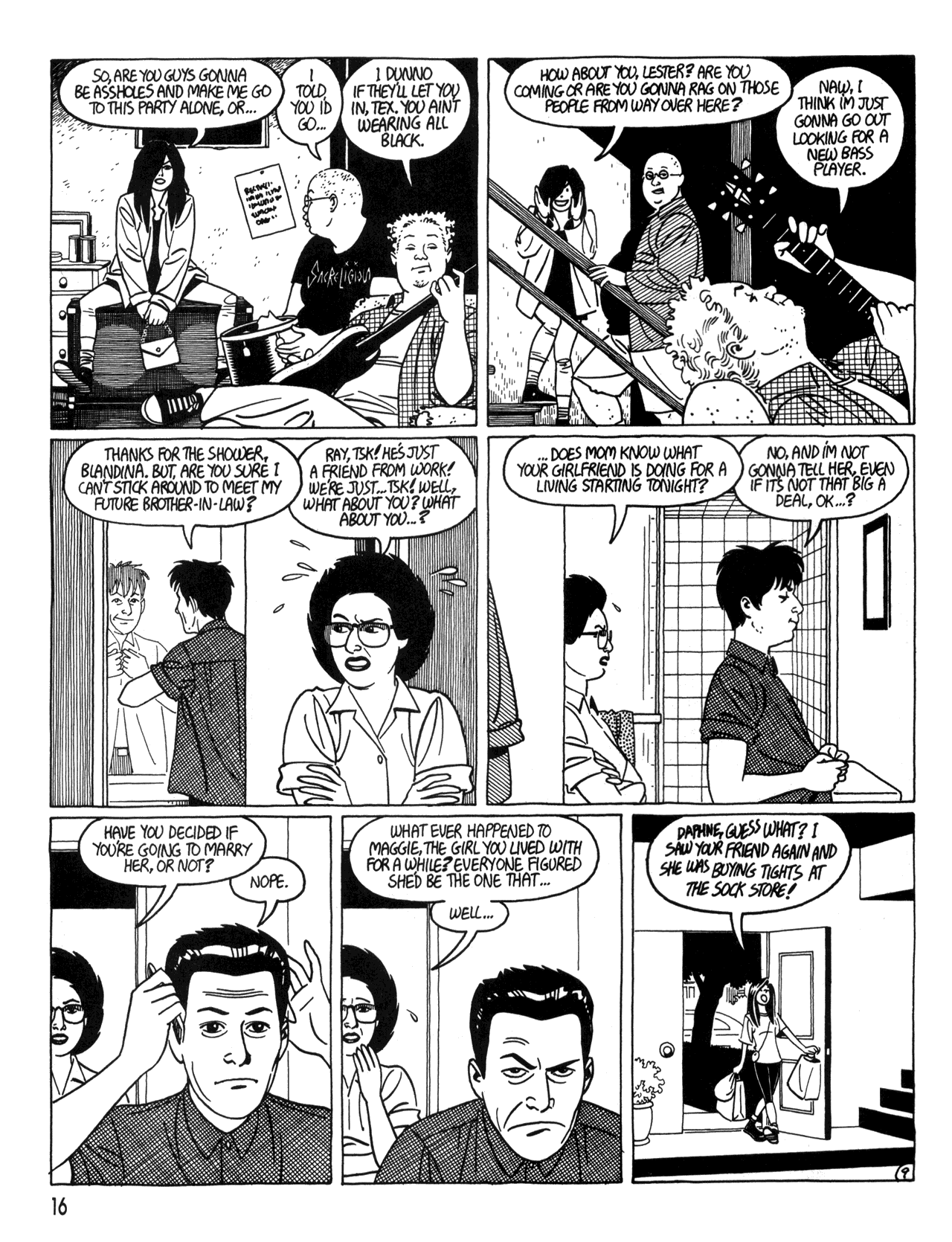Love and Rockets (1982) #34 #34 - English 18