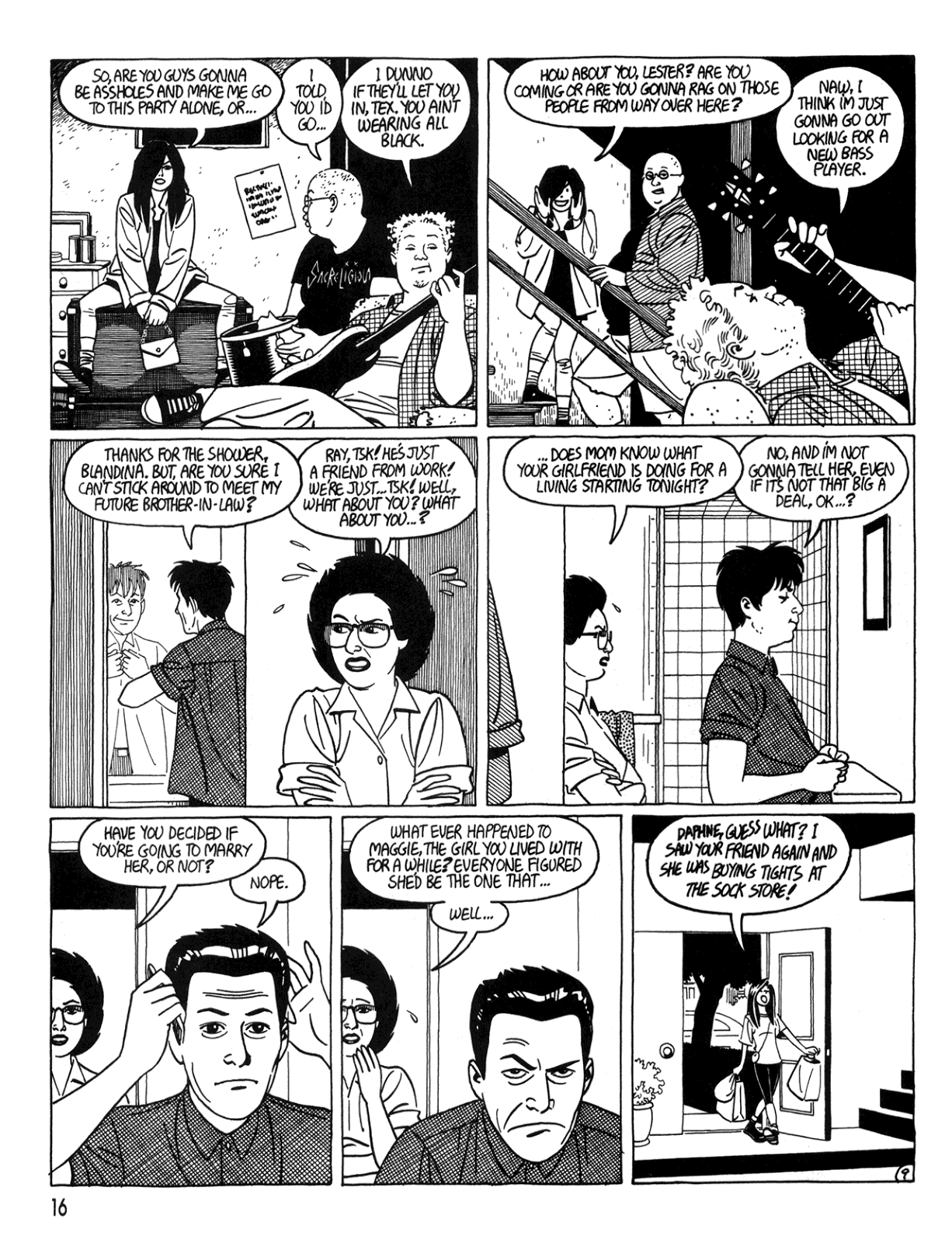 Love and Rockets (1982) Issue #34 #32 - English 18
