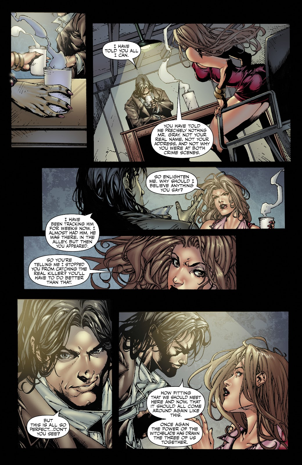 Read online Witchblade: Shades of Gray comic -  Issue #1 - 23