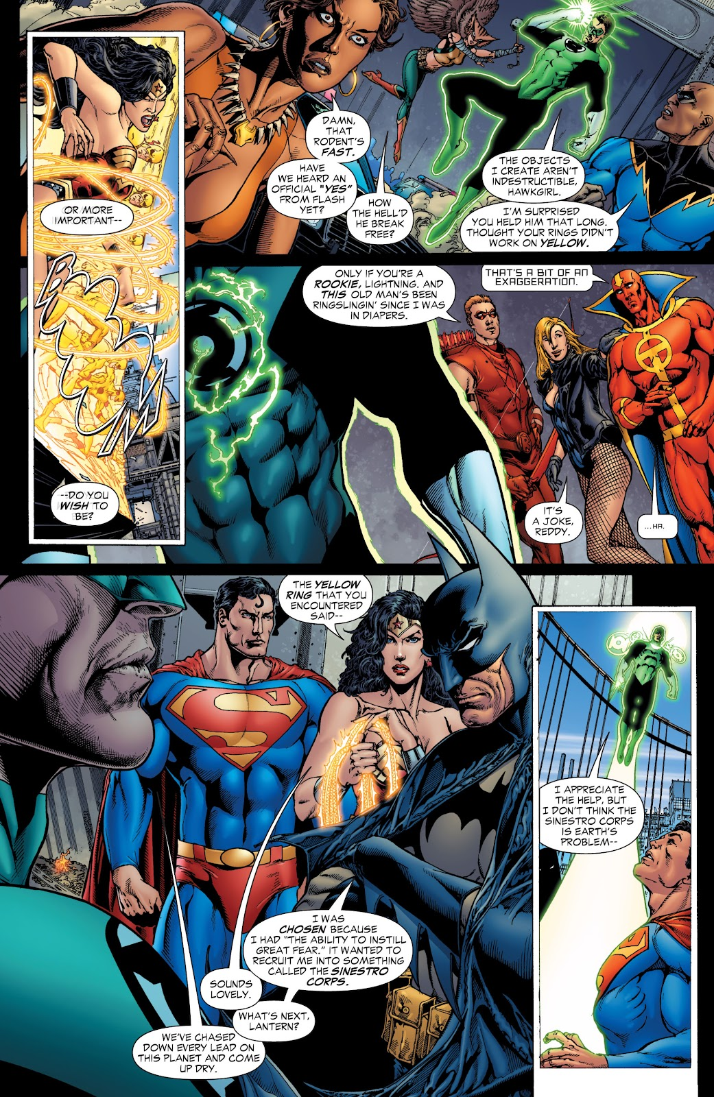 Green Lantern: The Sinestro Corps War Full #1 - English 14