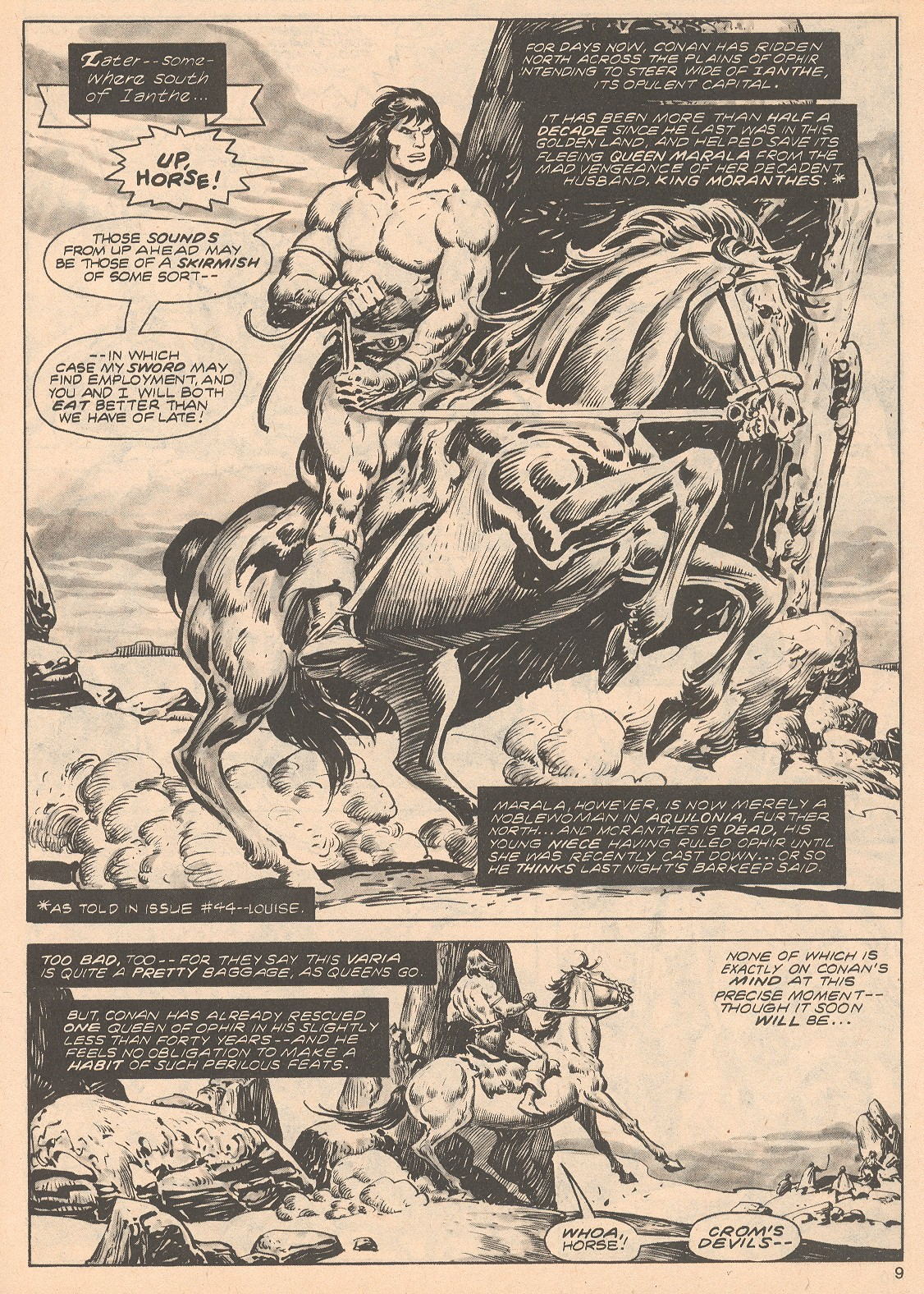 The Savage Sword Of Conan Issue #68 #69 - English 9