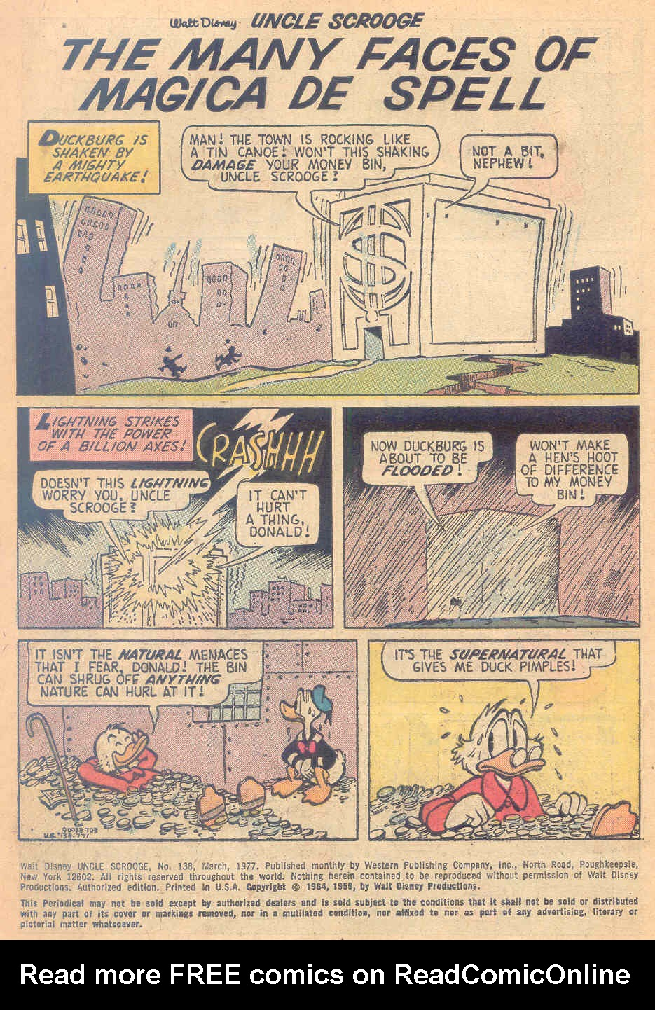 Uncle Scrooge (1953) Issue #138 #138 - English 3