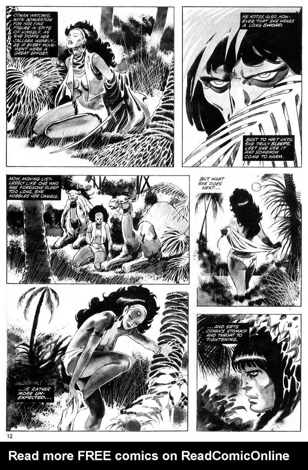The Savage Sword Of Conan Issue #55 #56 - English 12
