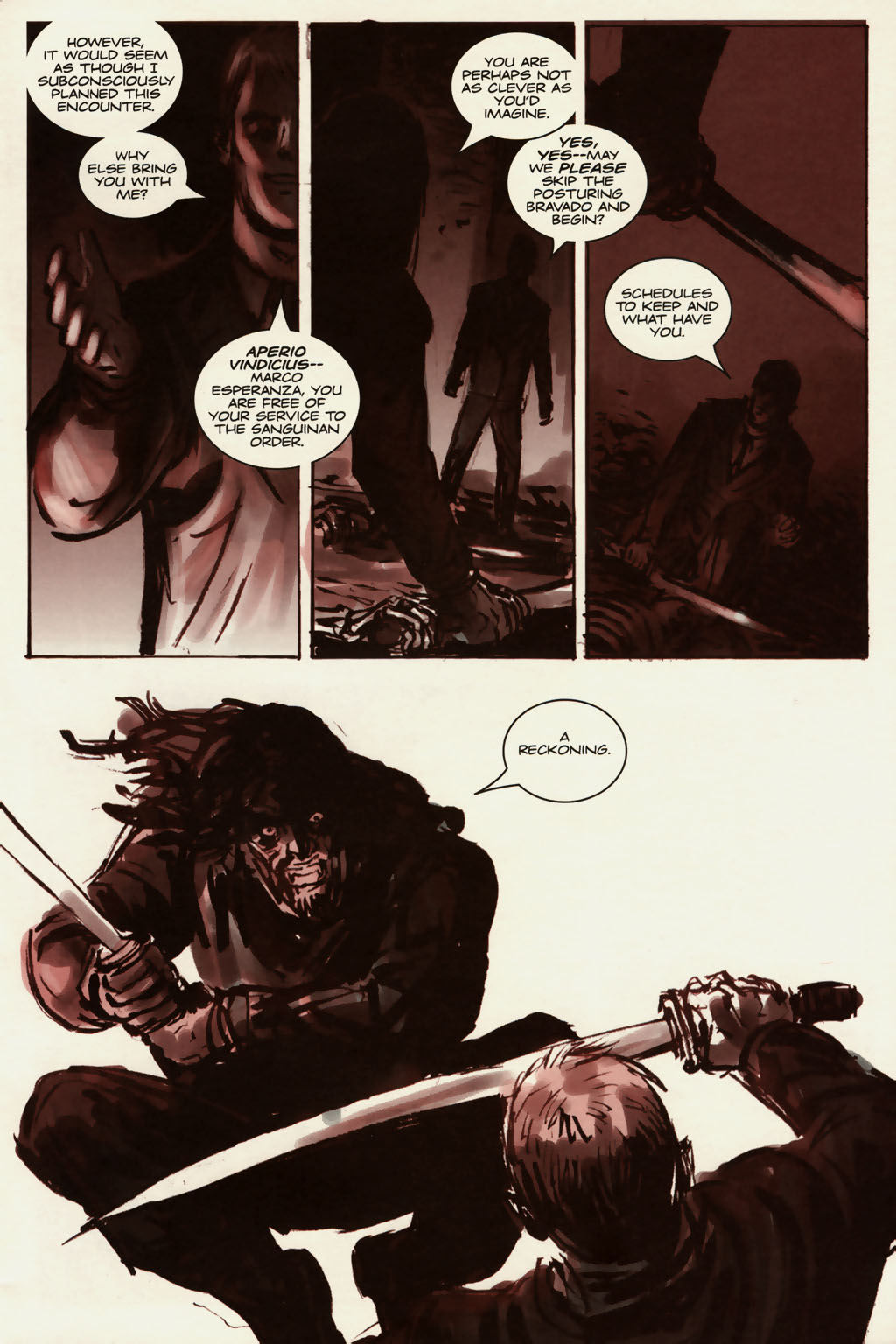 Read online Sea of Red comic -  Issue #13 - 12