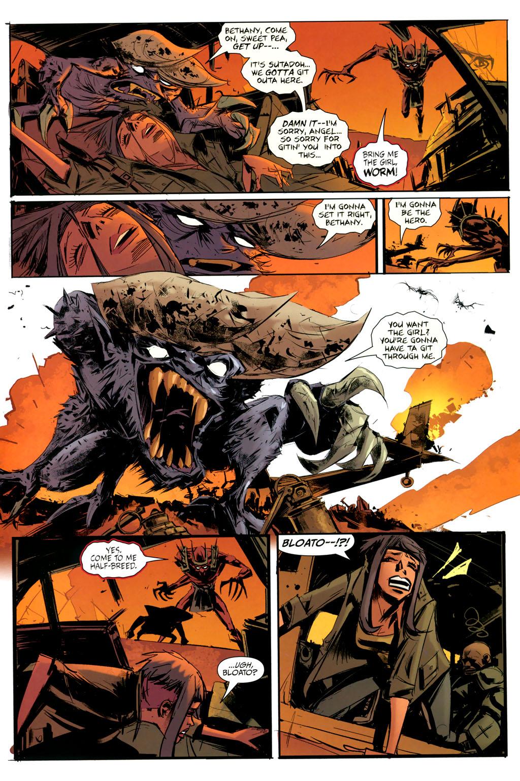 Strange Girl Issue #9 #10 - English 10