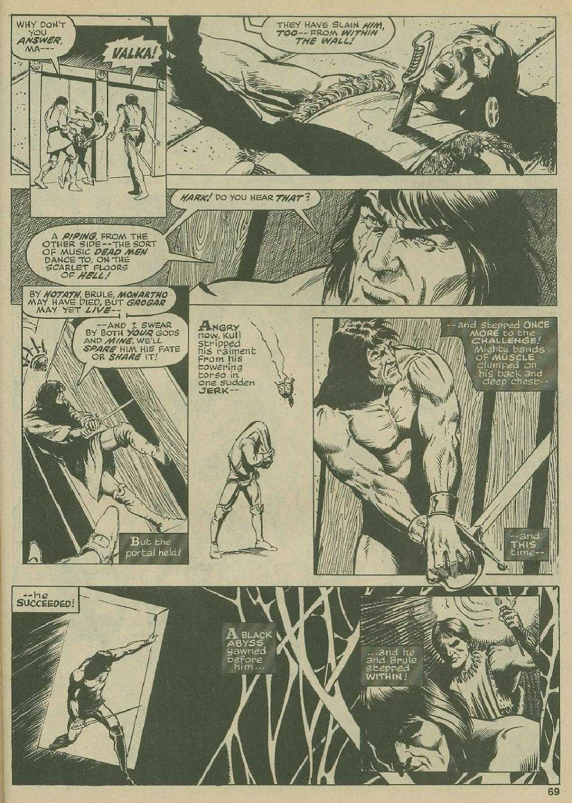 The Savage Sword Of Conan Issue #2 #3 - English 64