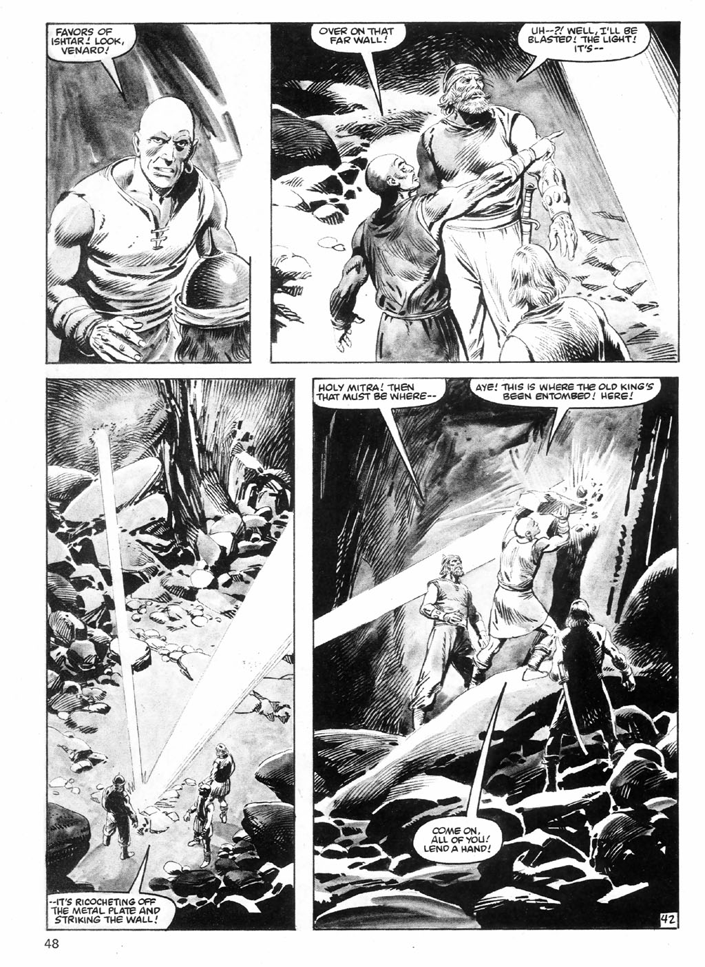 The Savage Sword Of Conan Issue #98 #99 - English 48